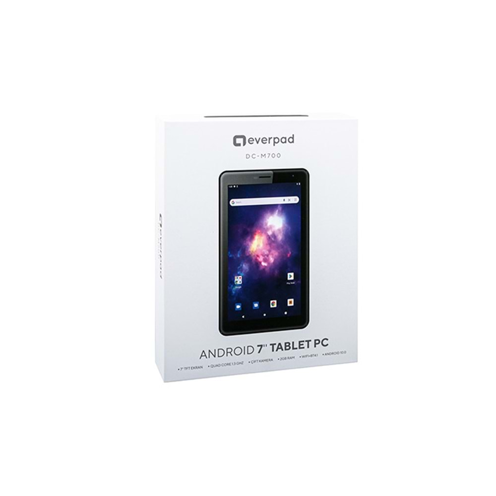 EVEREST EVERPAD DC-M700 WİFİ+BT ÇİFT KAMERA 7