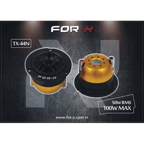 FOR-X TX-44N 200 WATT 100RMS OTO TWEETER